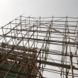 Royalty-Free Stock Photo: Bamboo scaffolding