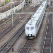 Stock Photo: Train in blurred motion