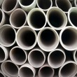 Stack of plastic pipes - Zdjcie stockowe