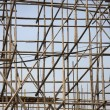Bamboo scaffolding — Stock Photo #7302244