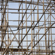 Stock Photo: Bamboo scaffolding