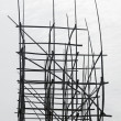 Bamboo scaffolding — Stock Photo #7302252