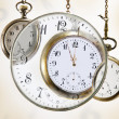Stock Photo: Pocket watches