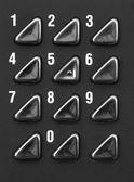 Numeric keypad — Stock Photo