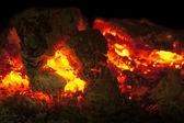 Glow and coal — Stock Photo