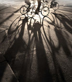 Cyclists — Foto Stock