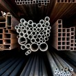 Metal pipes - Stock Photo