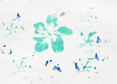 Watercolor abstract drawing — Stock Photo