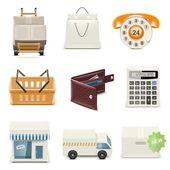 Shopping vector — Stock Photo
