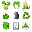 Royalty-Free Stock Vector Image: Ecology and green energy
