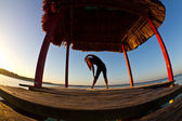 Morning Yoga — Stock Photo