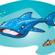 Whale shark — Stock Vector #7403160