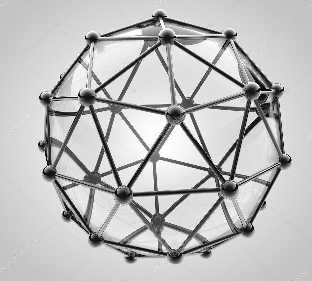 分子原子的金属和玻璃的科学