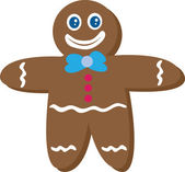 Gingerbread Man — Vettoriale Stock