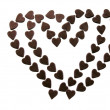 Stock Photo: Sweet chocolate love