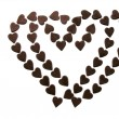 Sweet chocolate love — Stock Photo