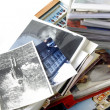 Retro photos and albums - Stock Photo