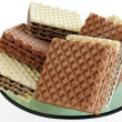 Wafers - Stock Photo