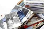Retro photos and albums — Stock Photo