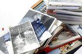 Retro photos and albums — Stock Photo
