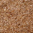Stock Photo: Seeds of flax as natural medicine or condiment