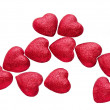Stock Photo: Red hearts as symbol of love