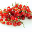 Red currants in clusters — Stock Photo