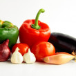 Vegetable and fruits — Stock Photo