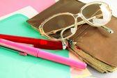 Schreiben briefe — Stockfoto