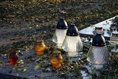 秋の墓地 — ストック写真