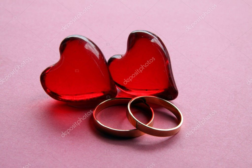 symbols of love and marriage � stock photo 169 manka 7532999