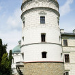 Stock Photo: Tower of castle in Krasiczyn