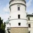 Tower of castle in Krasiczyn — Stock Photo