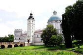 View of Krasiczyn Castle in Poland — Stock Photo