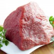 Red beef meat — Stock Photo