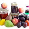Various fruits and preserves — Stock Photo #7807492