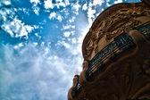 Modernist building Madrid — Stock Photo
