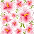 Background with flowers — Stock Photo