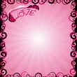 Abstract pink love - Stockfoto
