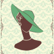 Vintage fashion - Stock Vector