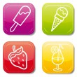 Food icon — Stock Vector #7530324