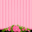Background with flowers - Vettoriali Stock