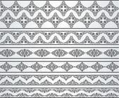 Fundo de tapeçaria vintage. — Vetor de Stock