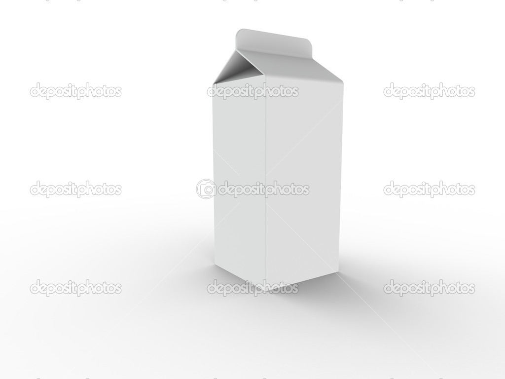 Milk Carton  Stock Photo #7194296
