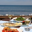 Lunch for two by the sea — Stock Photo #7203785