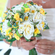 Wedding bouguet — Stock Photo