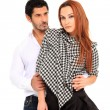 Young couple fashion portait — Stock Photo #7946845