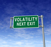 Volatility — Stock Photo