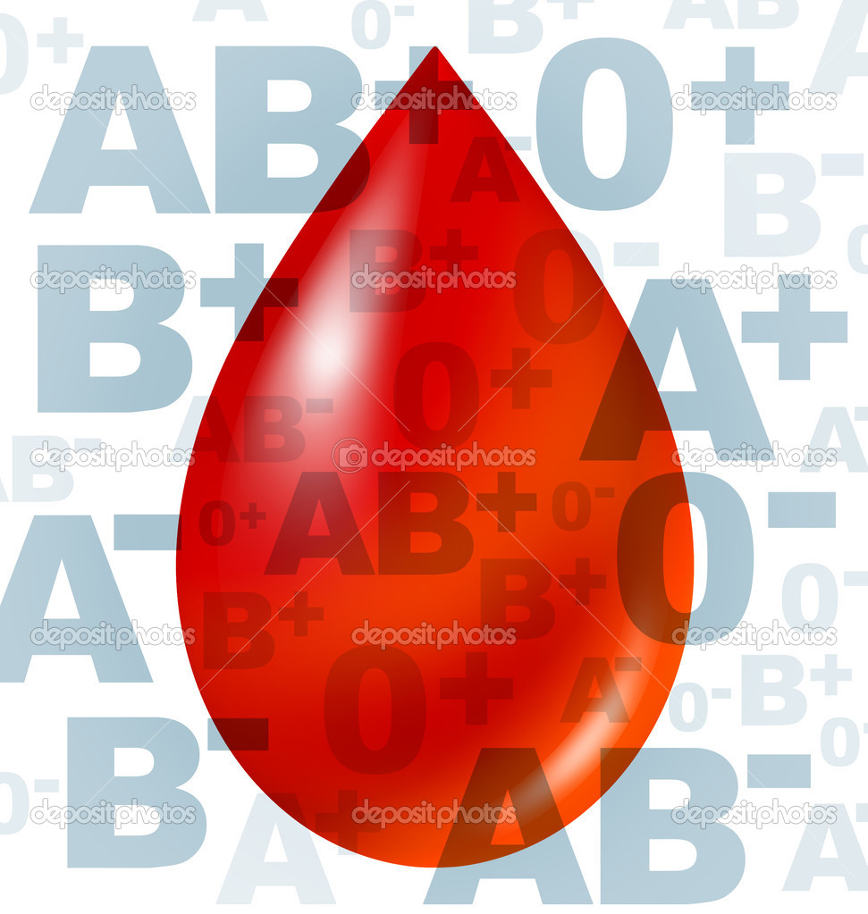 Different blood group and types representing red blood cells flowing through veins and human circulatory system representing donors and recipients of transfusio — Stock Photo #7269642