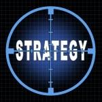 Постер, плакат: Strategy and focus